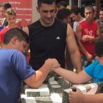 FOTO: UNPR-iştii din Dâmboviţa au iniţiat un campionat de skandenberg
