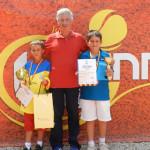 """TENIS: Vlad Breazu şi Vasile Duţă, sub """"tricolor"""" la Under 12"""