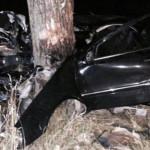 UPDATE: Au rulat nebuneşte spre moarte! Maşina s-a rupt în două la imp...