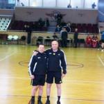 HANDBAL: Morenarii Harabagiu şi Stănescu au arbitrat Supercupa Românie...
