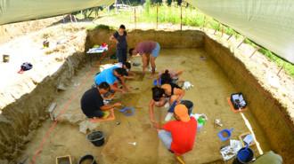 santier arheologic poiana ciresului