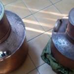 DÂMBOVIŢA: Vindeau ilegal cazane pentru fabricat alcool în zona Gării ...