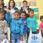 DONAŢII: Clienţii Carrefour susţin educaţia preşcolară cu 100.000 de l...