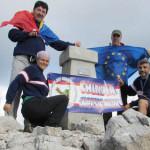 EXPEDIŢIE: Românii au cucerit cel mai înalt vârf din Croaţia