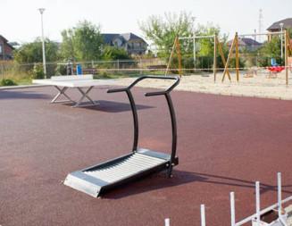 INVESTIŢIE: Parc de fitness, pus la dispoziţie gratuit de Primăria Titu