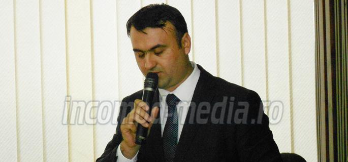 Ionuţ Lăscaie - directorul Centrului Judeţean de Cultură Dâmboviţa