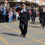 DÂMBOVIŢA: Pompierii militari au defilat de ziua lor cu tehnica din do...