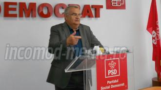 Sache Neculaescu - preşedintele Organizaţiei de pensionari a PSD Dâmboviţa