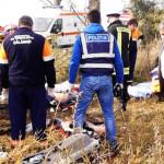 CĂLĂRAŞI: Accident rutier cu patru morţi în comuna Luica. FOTO