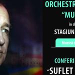 DÂMBOVIŢA: Concert simfonic şi o întâlnire inedită cu actorul Dan Puri...