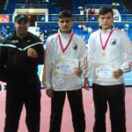 SUCCES: Fraţii Marin din Târgovişte, medalii de aur în Cupa României l...