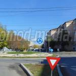 RECORD: 33 de semne de circulaţie într-un sens giratoriu din municipiu...