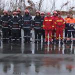 FOTO: Pompierii giurgiuveni au simulat un accident chimic la SC Gas Te...