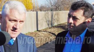 Adrian Ţuţuianu (stânga) - Daniel Lucian Andrei (dreapta)