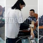 GIURGIU: Jandarmii au donat sânge pentru răniţii din