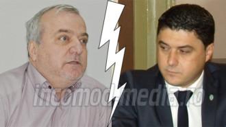Dumitru Miculescu (stânga) - Cosmin Bozieru (dreapta)
