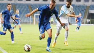 Adrian Pătulea, la minge (Sursa foto: telegrafonline.ro)