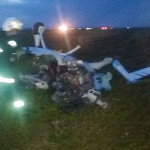 DÂMBOVIŢA: Un avion  de agrement s-a prăbuşit la Nucet!