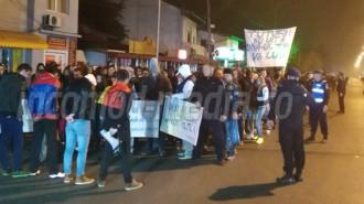protest colectiv targoviste