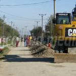 DÂMBOVIŢA: Primăria Titu modernizează străzile din Sălcuţa