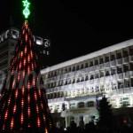FOTO: Târgoviştenii au dat startul sărbătorilor de iarnă