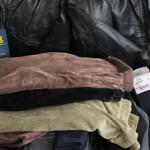 GIURGIU: Jandarmii au confiscat la greu articole de vestimentaţie în t...