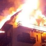 ARGEŞ: Hotelul Posada a luat foc din cauza coşului centralei termice!