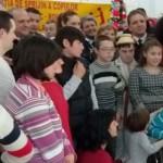 GEST: Pompierii din Argeş şi Călăraşi au fost ajutoarele lui Moş Crăci...