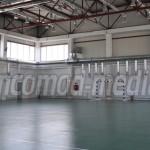 DÂMBOVIŢA: Primăria Moreni a definitivat lucrările la sala de sport de...