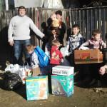 ALDE Dâmboviţa, acţiune umanitară în comuna Gura Ocniţei