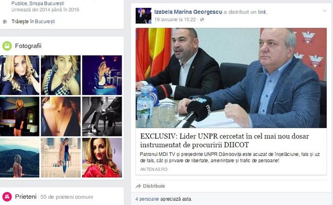 Izabela Marina Georgescu este lider PSD Crevedia