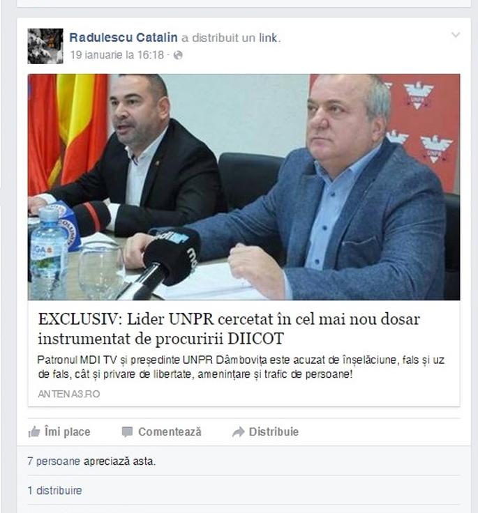 Radulescu Catalin - consilier municipal PSD Targoviste