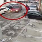 VIDEO: Un elev din Piteşti a dat INTENŢIONAT cu maşina peste bărbatul ...