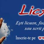 CONCURS: LicArt încurajează liceenii să se exprime prin poezie şi foto...