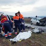 TRAGEDIE: Trei veri din Săcuieni au murit într-un accident în Hunedoar...