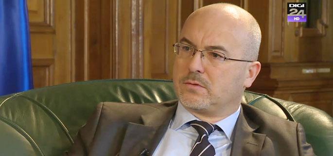 E.S. Marcin Wilczek - ambasadorul Republicii Polone în România (Sursa foto: Digi24.ro)