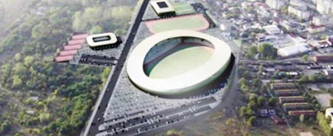 Machetă Complex Sportiv Târgovişte