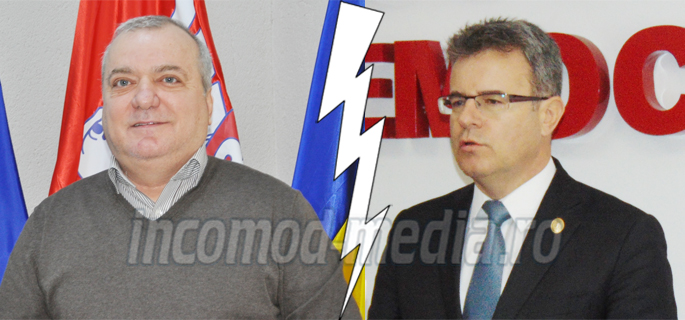 Dumitru Miculescu (stânga) - Ionuţ Săvoiu (dreapta)
