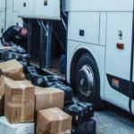 GIURGIU: Mii de produse contrafăcute, confiscate dintr-un autocar ce v...