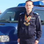 GEST: Jandarmul anului 2016 aleargă 306 km, în memoria victimelor aten...