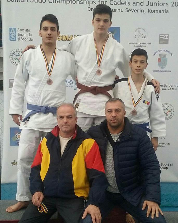 Judoka dâmboviţeni, pe podium la Turnu Severin