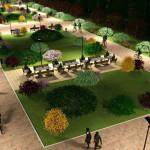 PUCIOASA: Amenajarea parcului de la gară şi reabilitarea străzilor int...
