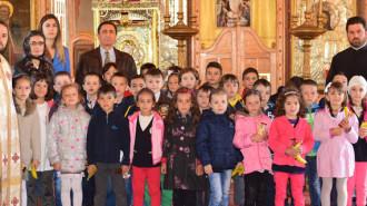 parteneriat scoala - biserica moreni