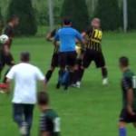 FOTBAL: Arbitrul Alexandru Vedeanu, bătut pe terenul din Iedera