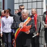 ALDE: Inaugurarea sediului neterminat al Primăriei Dărmăneşti a fost t...
