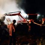 IALOMIŢA: Persoane necunoscute au incendiat un depozit de furaje din I...