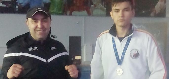 George-Mihai Marin şi tatăl său, Marius Mihai Marin