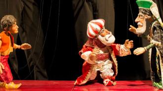 marionete teatru