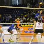 VOLEI: CSM Târgovişte luptă mâine la Blaj pentru titlul de campioană