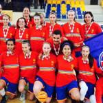 CSŞ-CSM Târgovişte a câştigat în premieră titlul la baschet feminin U1...